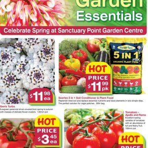 Garden Centre Spring Sale